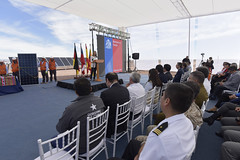 Foto37 (Intendente de Tarapacá) Tags: intendente quezada y ministra de energía participaron en la instalación los 1ros paneles fotovoltaicos granja solar 22052019