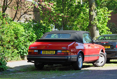 1990 Saab 900i 16 2.0 Cabriolet (rvandermaar) Tags: 1990 saab 900i 16 20 cabriolet 900 saab900 convertible cabrio yd77lx sidecode4