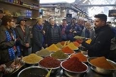 Spice Shop (oxfordblues84) Tags: machaneyehudamarket oat overseasadventuretravel jerusalemisrael jerusalem israel walkingtour market me eric michael sue marti margo michele nancy carol ron georgeanna greengroup