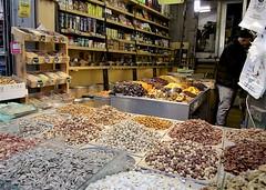 Nut Shop (oxfordblues84) Tags: machaneyehudamarket oat overseasadventuretravel jerusalemisrael jerusalem israel walkingtour market nut nuts nutshop