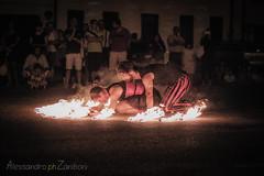 Circondati dal fuoco (Alessandro Zaniboni Ph) Tags: fuoco persona buskers fire person people grazie lombardia italia
