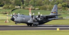 96-1004 (PrestwickAirportPhotography) Tags: egpk prestwick airport usaf united states air force lockheed c130 hercules minnesotta national guard 961004