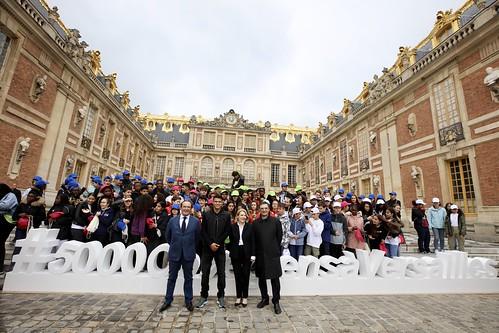 5000 collégiens des Yvelines et des Hauts-de-Seine au château de Versailles