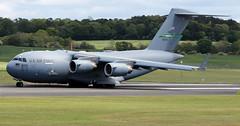 08-8199 (PrestwickAirportPhotography) Tags: egpk prestwick airport usaf united states air force boeing c17 globemaster 088199 mcchord mobility command