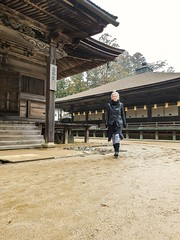 (anhexplorer) Tags: myself japan koyasan asia wakayama historic unesco temple buddhism religious mist travelling travel explore scenic danjogaran