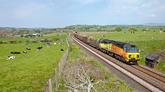 You CAN See The Wood For The Trees (Richie B.) Tags: langwathby cumbria settle and carlisle railway 6j37 colas rail power haul class 70 70815