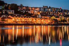 Harbourside, Bristol, UK (KSAG Photography) Tags: harbour reflection night nightphotography city nikon may 2019 bristol uk unitedkingdom england europe britain hdr urban architecture