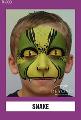 R-003 SNAKE (BEYOND Face Painting) Tags: reptile reptiles amphibians amphibian animal animals beyond bfp originals