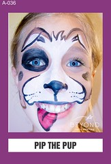 A-036 PIP THE PUP (BEYOND Face Painting) Tags: animal animals beyond bfp originals