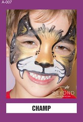 A-007 CHAMP (BEYOND Face Painting) Tags: animal animals beyond bfp originals