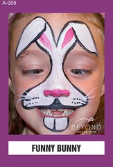 A-005 FUNNY BUNNY (BEYOND Face Painting) Tags: animal animals beyond bfp originals