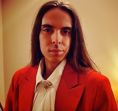 Lord Josh Allen - Self Portrait (Josh100Lubu) Tags: lordjoshallen lordjosh lamat771 lamat lamatology spiritual spirituality sorcery sorcerer occult occultism occultist magician magick magic selfie longhair red tailcoat redtailcoat wizard taoism taoist taoistweathermagick victorian shirt fashion style hairstyle