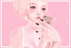 dream.png (heryam) Tags: sl secondlife vco sweet sleepy ruda gacha event blog blogger ahemy vincue poolie dream dreamy pink cute black sakura petal