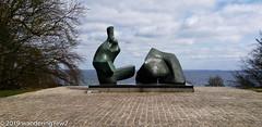 EuropeSpring2019-01 (wanderingYew2 (thanks for 4M+ views!)) Tags: denmark henrymoore lousianamuseumofmodernart recliningfigureno5 artmuseum modernart museum publicart sculpture sculpturegarden