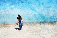 Thor (Bo Dudas) Tags: endgame thor avengers beach lightning blue shy surreal surrealism