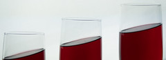 Leaning Wine: Take Two (Andy Sut) Tags: wine leaning sloping glasses drink novelty puzzle redwine andysutton food edible eating dining lumix bridgecamera amateur homestudio studiolighting still studio collectable