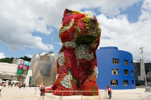 Jeff Koons - Puppy - Guggenheim Bilbao - Bilbao - Pais Vasco - Spain