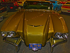 Raymond Loewy's 1959 Cadillac Coupe De Ville Concept Car at Barrett-Jackson Auction in Scottsdale, Arizona (oybay©) Tags: newyork car automobile gm cadillac licenseplate concept 1959 conceptcar generalmotors barrettjackson raymondloewy