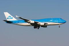 PH-BFV - KLM Royal Dutch Airlines - Boeing 747-406(M) (5B-DUS) Tags: phbfv klm royal dutch airlines boeing 747406m 747400 b744 ams eham amsterdam schiphol airport aircraft airplane aviation flughafen flugzeug planespotting plane spotting netherlands