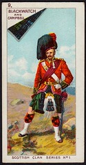 Cigarette Card- Black Watch & Campbell