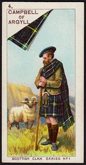 Cigarette Card - Campbell of Argyll