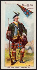 Cigarette Card - Cameron of Lochiel