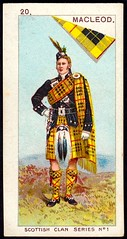 Cigarette Card - Clan MacLeod