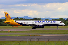 SX-ACP 2 Airbus A321-231 Olympus Airways MAN 28MAY19 (Ken Fielding) Tags: sxacp airbus a321211 olympusairways aircraft airplane airliner jet jetliner