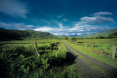 Kerry Mountain Road, Ireland. (2c..) Tags: ireland sky mountains film landscape flickr kerry best 2c 72dpipreview
