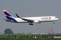 N534LA - LATAM Cargo Chile - Boeing 767-316F(ER)(WL) (5B-DUS) Tags: n534la latam cargo chile boeing 767316ferwl 767300 b763 ams eham amsterdam schiphol airport aircraft airplane aviation flughafen flugzeug planespotting plane spotting netherlands