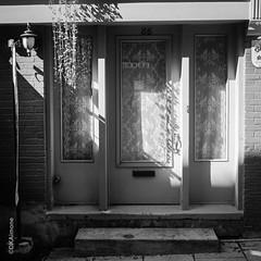Quebec City Portals (http://www.aimonephoto.com) Tags: 6x6 blackwhite mediumformat weltaweltur film fujiacros100 monochrome safe