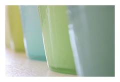 Macro Mondays : Glass / Mouth blown glasses (Tostaky2) Tags: macro macromondays glass verre mouthblownglass mouthblown artisanal handwork france français french canon eos550d