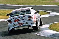 Greg Murphy (.Stupix) Tags: newzealand 2000 greg australia victoria calder pentaxk1000 commodore v8 murphy kmart motorsport supercars raceway