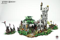 LEGO Lord Of The Rings - Eomer's Hideout (Barthezz Brick) Tags: lordoftherings lotr moc custom afol castle fantasy medieval rohan rohirrim eomer aragorn urukhai lego legos minifig minifigures legocreator legoart barthezz barthezzbrick brick
