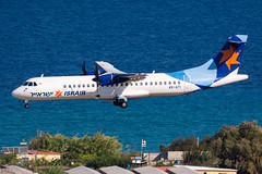 4X-ATI - Israir Airlines - ATR 72-500 (5B-DUS) Tags: 4xati israir airlines atr 72500 at72 rho lgrp rhodes rhodos diagoras airport aircraft airplane aviation flughafen flugzeug planespotting plane spotting greece