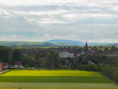 Pfeddersheim, Germany (Serendigity) Tags: germany fields town worms rheinlandpfalz