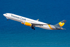 OY-VKH - Thomas Cook Airlines Scandinavia - Airbus A330-343 (5B-DUS) Tags: oyvkh thomas cook airlines scandinavia airbus a330343 a333 330300 rho lgrp rhodes rhodos diagoras airport aircraft airplane aviation flughafen flugzeug planespotting plane spotting greece