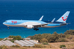 G-OBYH - TUI Airways - Boeing 767-304(ER)(WL) (5B-DUS) Tags: gobyh tui airways boeing 767304erwl 767300 b763 rho lgrp rhodes rhodos airport aircraft airplane aviation flughafen flugzeug planespotting plane spotting greece