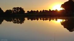 Sonnenaufgang am Teich (unbearbeitet) - (sunrise at the pond, unprocessed) (skruemel86) Tags: see teich sonnenaufgang natur idylle lg g6 lgg6 spiegelung wasser bäume himmel horizont ruhe entspannung herrlich morgenrot landschaft thüringen ilmenau ilmkreis sunrise landscape