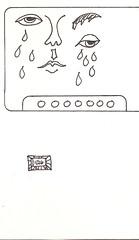 2019.01.26 Cry'n Eyes (Julia L. Kay) Tags: juliakay julialkay julia kay artist artista artiste künstler art kunst peinture dessin arte woman female sanfrancisco san francisco sketch dibujo selfportrait autoretrato daily everyday 365 self portrait portraiture face dpp dailyportraitproject pen paper ink monochrome bw blackandwhite black white