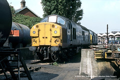 29/08/1984 - Ipswich. (53A Models) Tags: britishrail englishelectric type3 class37 diesel ipswich suffolk train railway locomotive railroad