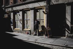 Stone street (Eric Anthony Balsamo) Tags: newyork streetphotography street fujifilm x100f fuji stonestreet people manhattan nyc