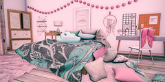 Sweet Dreams (AlyceAdrift) Tags: sweet dreams daybed afternoon naptime nap cuddly cozy lazy lazyday day calm dreaming daydream daydreaming daydreamer secondlife sl blog slblog slblogge slblogger dreamboard girly feminine girlpower snuggle cuddle napdate pillows pink cloud comfy space dreamcatcher dream daydreams gabby gacha theplayroom spaceoddities candy candycrunchers babygirl sweetheart sweetness girl bedroom bed second life virtual decor decorations interior design interiordesign
