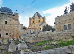 0055 (Paul_PA) Tags: mountzion church cemetery graveyard jerusalem israel oldcity