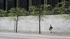 Pedestrian in Copenhagen (Josh Khaw) Tags: pedestrian walk street road minimal