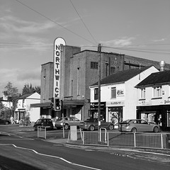 The old Northwick cinema