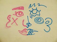 DSCF1312_R2b (Benoit Vellieux) Tags: france auvergnerhônealpes 69 lyon villeurbanne lignedelest eastrailwayline ostbahnstrecke streetart murpeint paintedwall bemaltemauer graffiti visagehermaphrodite hermaphroditgesicht hermaphroditeface homme femme man woman mann weib