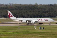 A340-5.A7-HHH-2 (Airliners) Tags: qatar qataramiri qataramiriflight qatarairways 340 a340 a3405 a340500 a340541 airbus airbus340 airbusa340 airbusa340500 airbusa340541 government iad a7hhh 41319