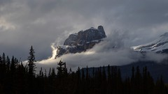 Mysterious Castle Mountain (Jeff Saly) Tags: banff castle mountain cloud dramatic sunset nature landscape canon national park outside canada alberta