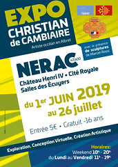 christian de cambiaire - poster exposition (Andre Furlan) Tags: exposition poster france toulouse aquitaine art informatique